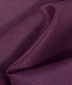 Auburgine Matte Satin (Peau de Soie) Fabric