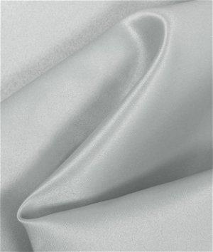 Light Silver Matte Satin (Peau de Soie) Fabric