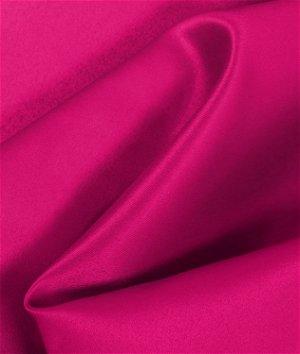 Fuschia Matte Satin  (Peau de Soie) Fabric