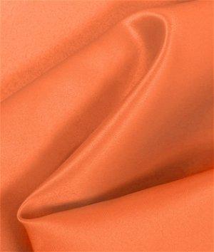 Orange Matte Satin (Peau de Soie) Fabric
