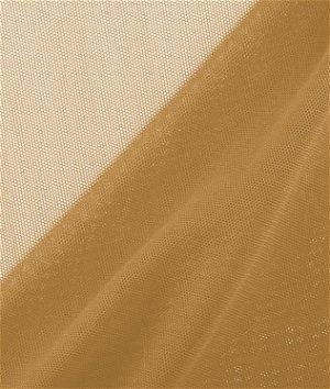 Gold Power Mesh Fabric