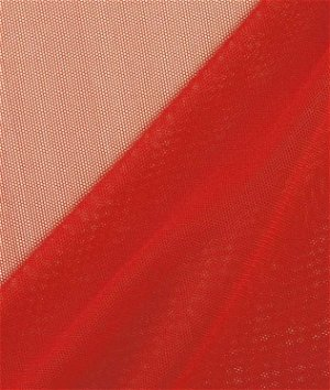 Red Power Mesh Fabric