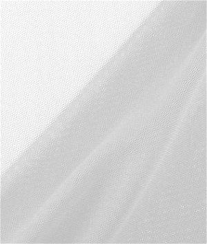White Power Mesh Fabric
