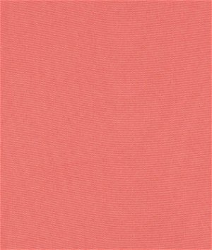 Coral Poly Poplin Fabric