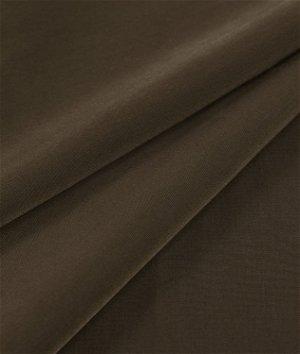 Chocolate Brown Peachskin Fabric