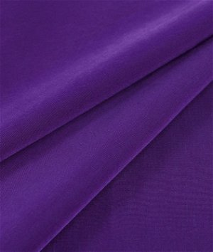 Purple Peachskin Fabric