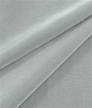 Silver Peachskin Fabric