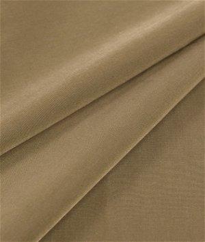 Taupe Peachskin Fabric