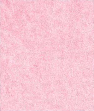 Pink Panne Velvet Fabric