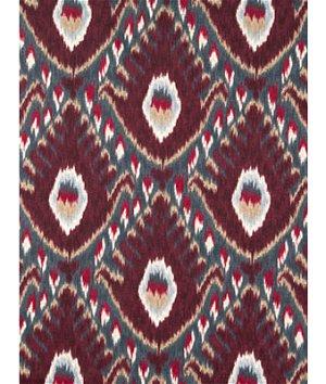Robert Allen @ Home Bold Ikat Currant Fabric