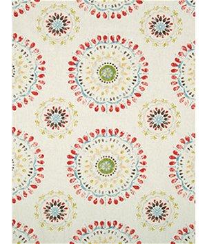 Robert Allen @ Home Color Wheel Coral Fabric