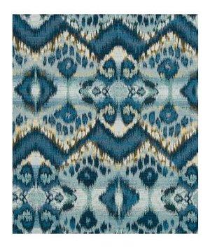 Robert Allen Rhythm Waves Calypso Blue Fabric