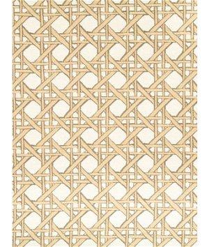 Robert Allen @ Home Fresh Cane Backed Gold Leaf Fabric