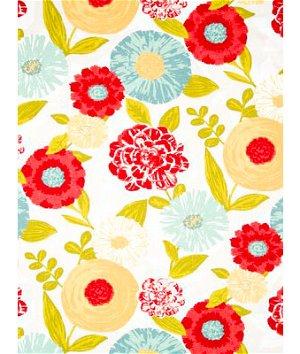 Robert Allen @ Home Luna Flora Poppy Fabric