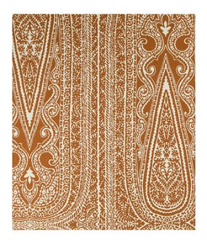 Robert Allen Padra Paisley Copper Fabric
