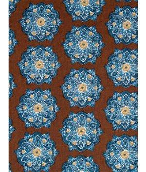 Robert Allen @ Home Suri Medallion Cognac Fabric