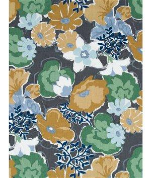 Robert Allen @ Home Splashy Garden Greystone Fabric