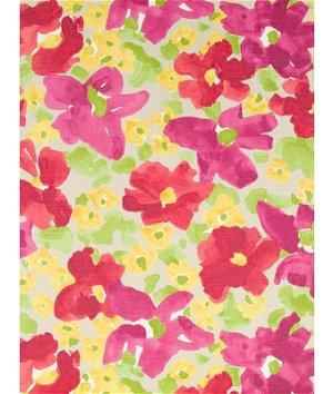 Robert Allen @ Home Evanthey Flora Poppy Fabric