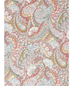 Robert Allen @ Home Zen Paisley Coral Fabric