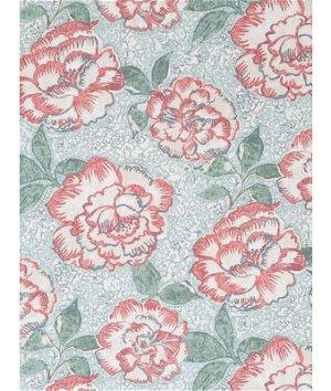 Robert Allen @ Home Peony Bowl Coral Fabric