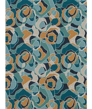 Robert Allen @ Home Ortensia Peacock Fabric