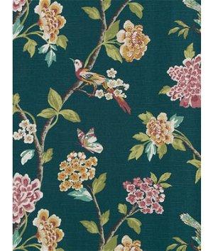 Robert Allen @ Home Helene Floral Jade Fabric