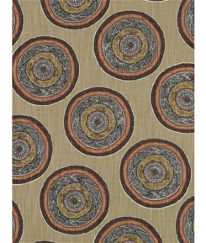 Robert Allen @ Home Jambasa Henna Fabric
