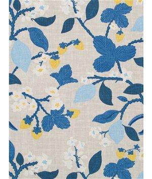 Robert Allen @ Home Crewel Summer Ocean Fabric
