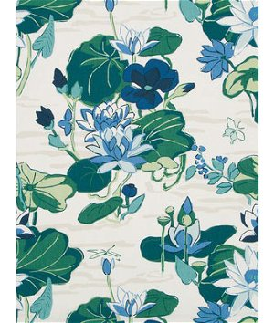 Robert Allen @ Home Lake Agawam Ocean Fabric