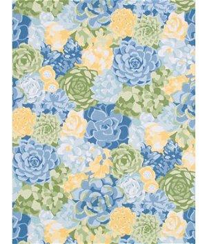 Robert Allen @ Home Succulents Leaf Fabric