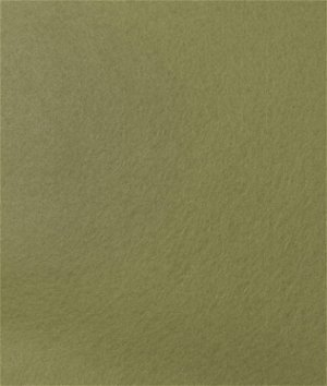 Olive Green Felt Fabric