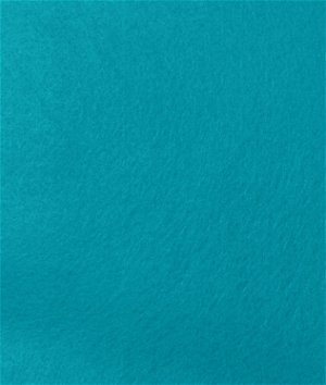 Turquoise Felt Fabric