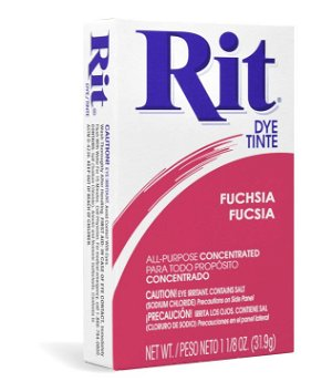 Rit Dye - Fuchsia # 12 Powder
