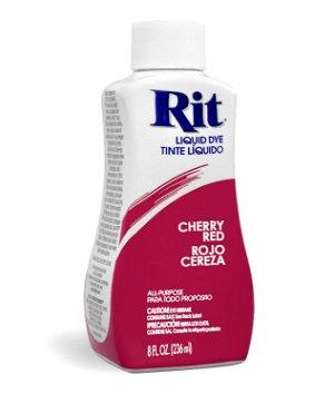 Rit Dye - Cherry Red # 23 Liquid