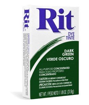 Rit Dye - Dark Green # 35 Powder