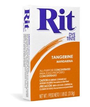 Rit Dye - Tangerine # 40 Powder