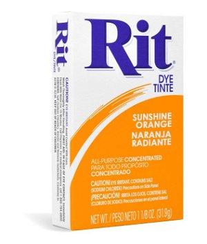 Rit Dye - Sunshine Orange # 43 Powder