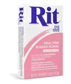 Rit Dye - Petal Pink # 7 Powder