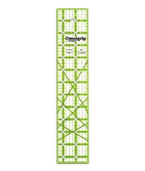 Omnigrid Non Slip Ruler 2-1/2 inch X 12-1/2 inch