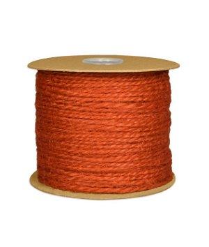 1.5mm Orange Jute Twine - 100 Yards