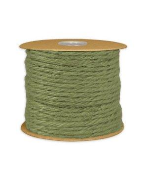 3.5mm Moss Green Jute Twine - 25 Yards