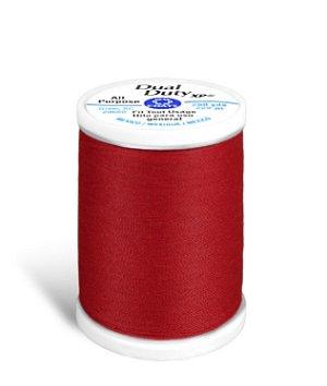Coats & Clark Dual Duty XP Thread - Red, 250 Yards