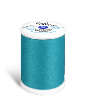 Coats & Clark Dual Duty XP Thread - Parrot Blue, 250 Yards
