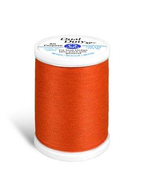 Coats & Clark Dual Duty XP Thread - Orange, 250 Yards