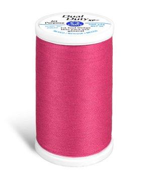 Coats & Clark Dual Duty XP Thread - Hot Pink, 500 Yards