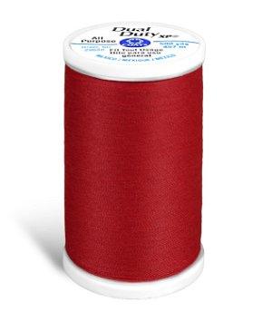 Coats & Clark Dual Duty XP Thread - Red, 500 Yards