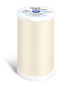 Coats & Clark Dual Duty XP Thread - Cream, 500 Yards