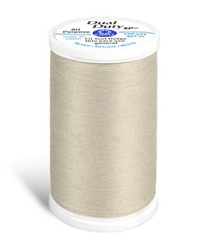Coats & Clark Dual Duty XP Thread - Ecru, 500 Yards