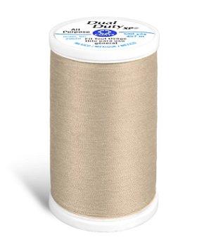 Coats & Clark Dual Duty XP Thread - Buff, 500 Yards