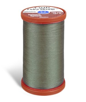Coats & Clark Extra Strong Upholstery Thread - Green Linen